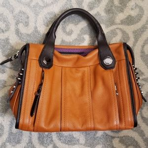 orYANY Real Leather Satchel